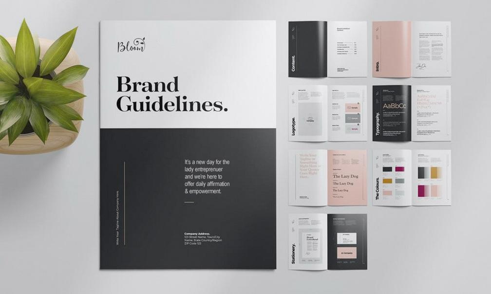 Brand Guideline Example