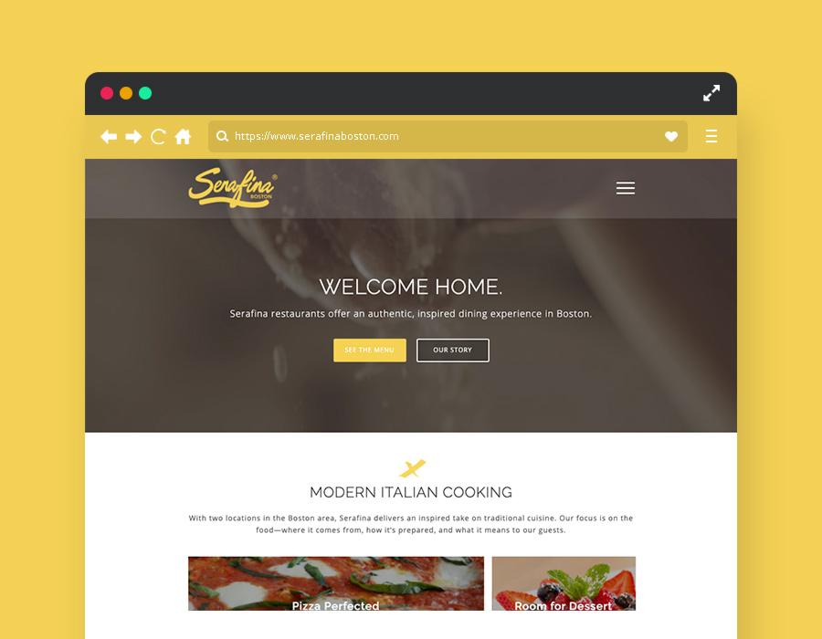 Restaurant Website Design